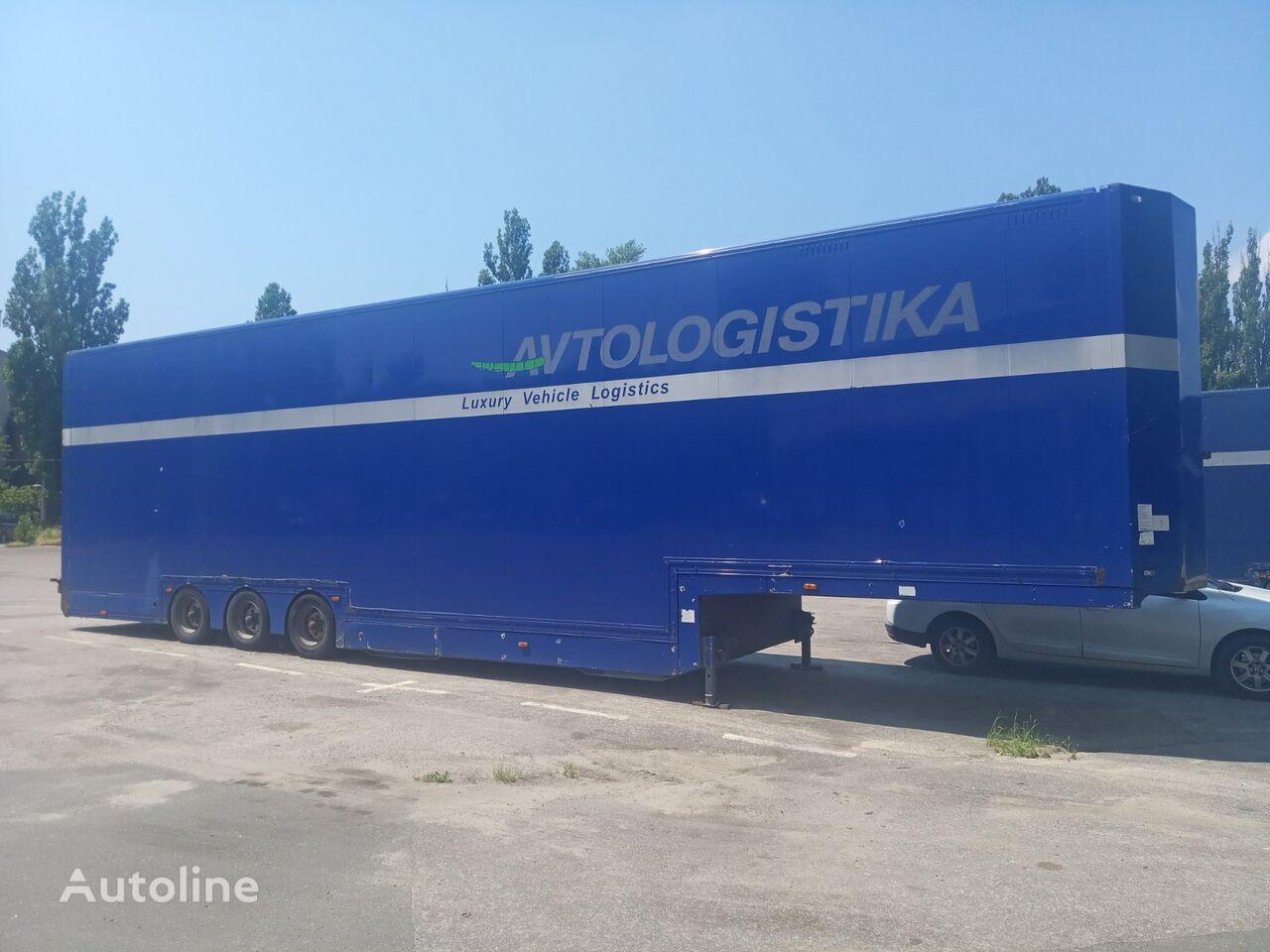 العربات نصف المقطورة شاحنة نقل السيارات KASSBOHRER SP 9-16 CVT