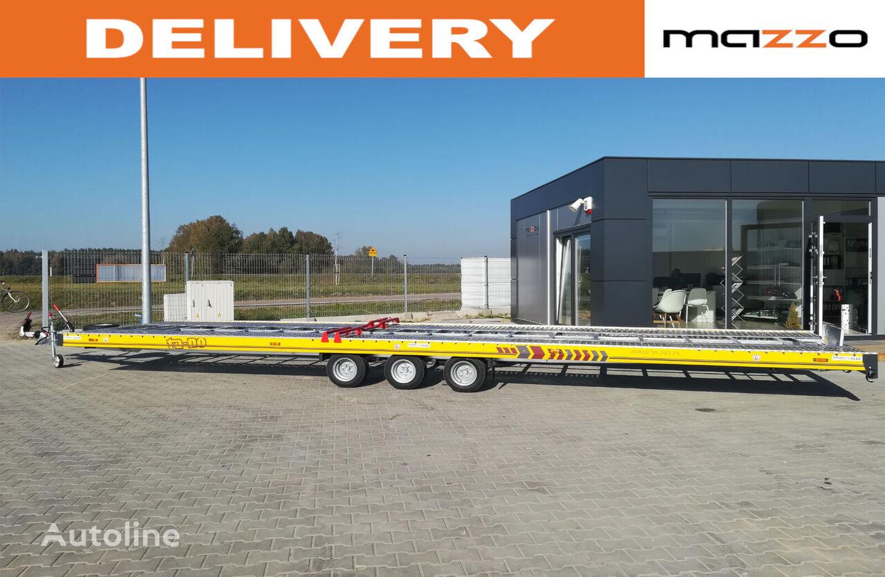 جديد العربات المقطورة شاحنة نقل السيارات 35.85 850x210cm 3500kg Two car trailer