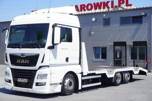 شاحنة نقل السيارات MAN TGX 26.460 XLX , E6 , 6X2 , NEW BODY 7,9m , ramps ,winch , remot