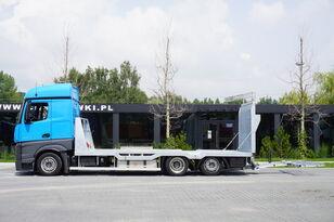 شاحنة نقل السيارات MERCEDES-BENZ Actros 2542 , E6 , MEGA , NEW BODY , car tow 10T , hydraulic ram