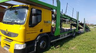 شاحنة نقل السيارات RENAULT Premium 370.18 Euro5 !!! + العربات المقطورة شاحنة نقل السيارات