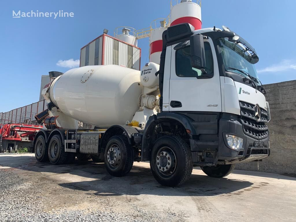 شاحنة خلط الخرسانة MERCEDES-BENZ AROCS 4142 MERCEDES MİXER 5 PİECE READY
