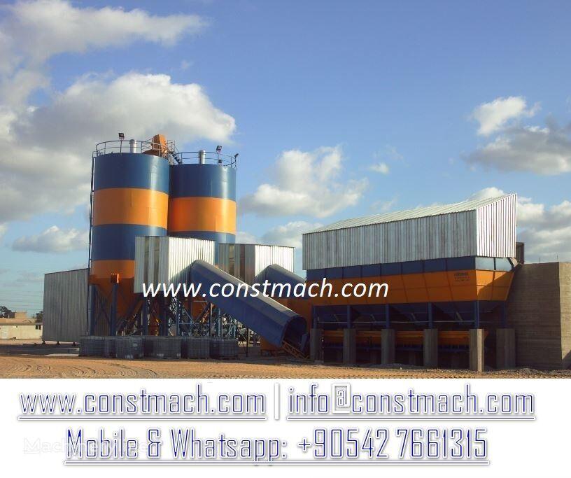 جديد ماكينة صناعة الخرسانة CONSTMACH STATIONARY 240  CONCRETE BATCHING  PLANT BRAND NEW!