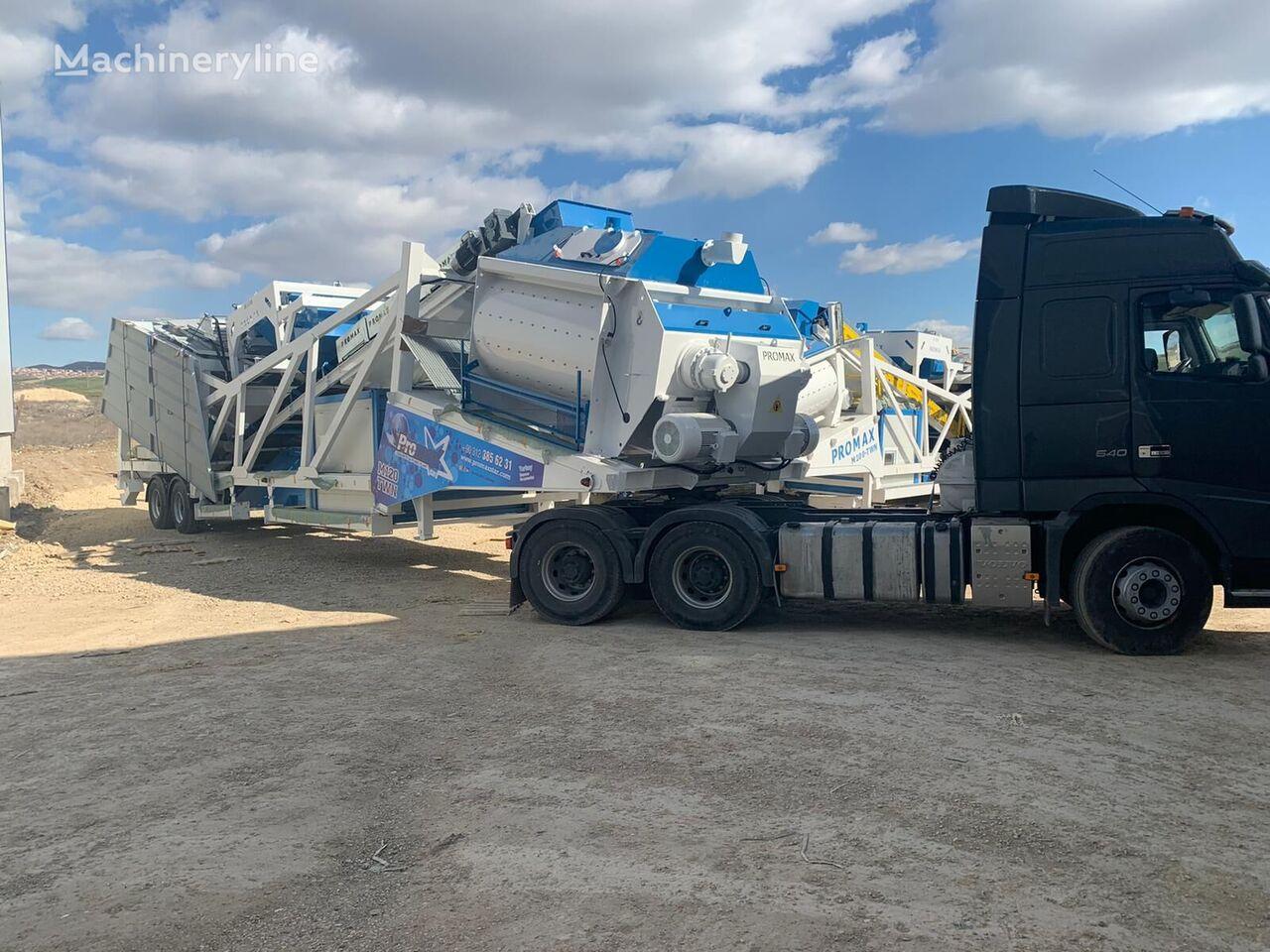 جديد ماكينة صناعة الخرسانة PROMAX Mobile Concrete Batching Plant M120-TWN (120m3/h)