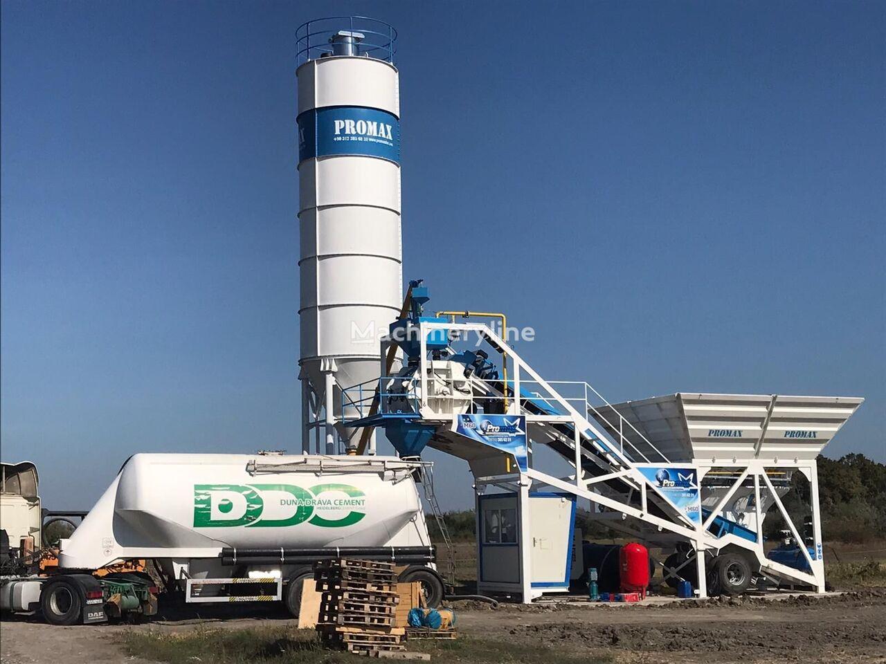 جديد ماكينة صناعة الخرسانة PROMAX Mobile Concrete Batching Plant PROMAX M60-SNG(60m³/h)