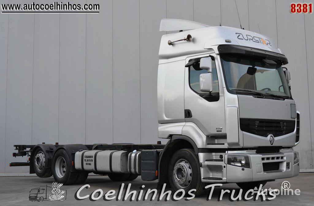 شاحنة نقل الحاويات RENAULT Premium 450DXi
