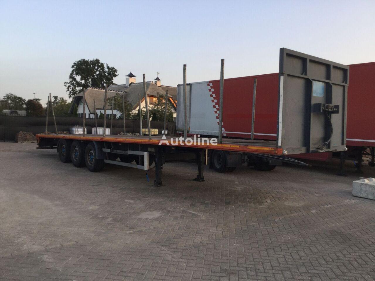 العربات نصف المقطورة شاحنة مسطحة TRAILIS Pers 27