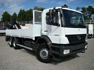 شاحنة مسطحة MERCEDES-BENZ Axor 2633 6x4 Darus