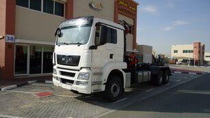 شاحنة ذات الخطاف MAN TGS 26.440 6×4 Hook Loader + ATLAS 165 Crane 2011