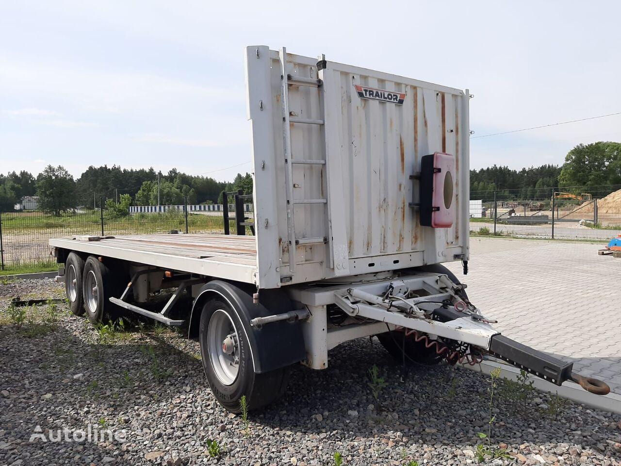 العربات المقطورة عربة مقطورة مسطحة TRAILOR