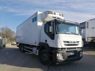 شاحنة التبريد IVECO STRALIS 260S36 6X2 CELLA FRIGO 9 METRI, THERMOKING, PEDANA 2 TON