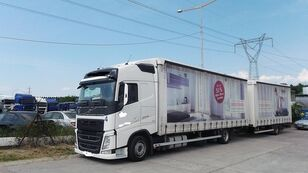 صندوق خلفي مغطى VOLVO fh 420 EURO 6 + العربات المقطورة صندوق خلفي مغطى