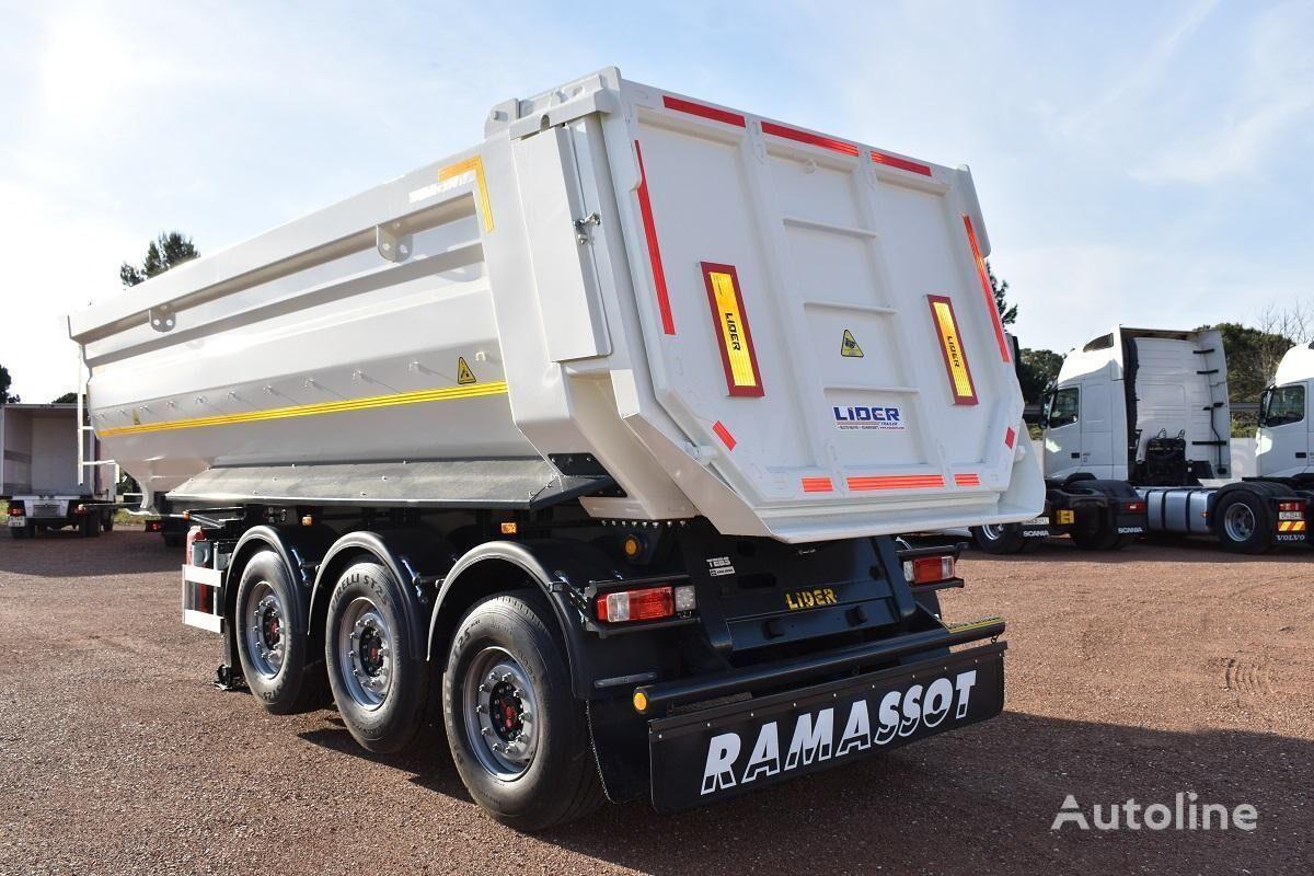 جديدة العربات نصف المقطورة شاحنة قلابة LIDER trailer Non Spécifié