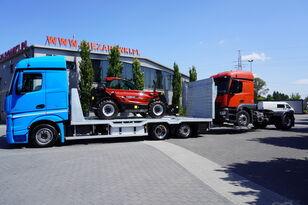 سحب شاحنة MERCEDES-BENZ Actros 2542 , E6 , MEGA , NEW BODY , car tow 10T , hydraulic ram