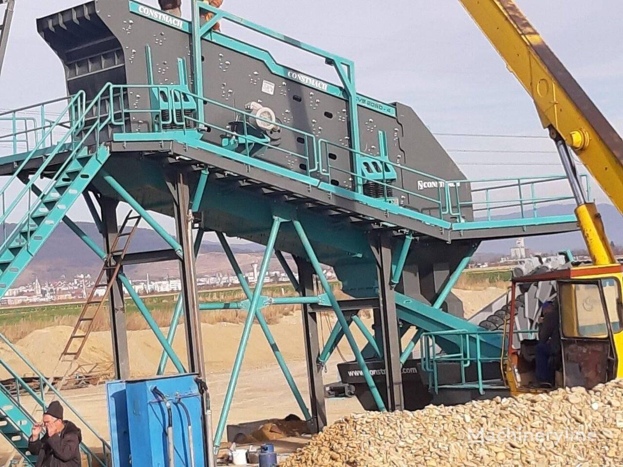 جديد آلة الغربلة الهزازة CONSTMACH 2 x 6 meters VIBRATING SCREEN – 250 – 300 TPH CAPACITY