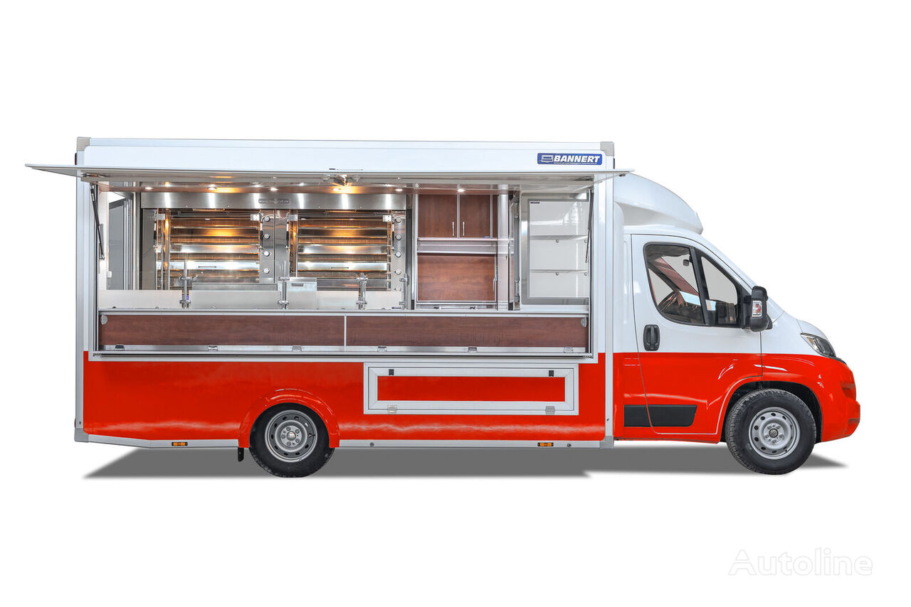 جديدة شاحنة بيع المنتجات < 3.5 أقدام BANNERT NA ZAMÓWIENIE Bannert  Kurczak Grill Food Truck/Chicken Grill Fo