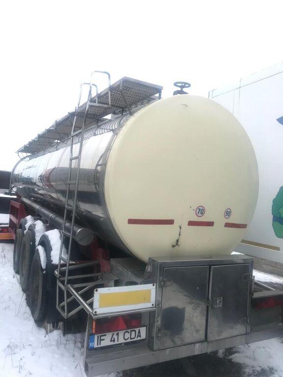 عربة الصهريج لنقل المواد الغذائية BODEX Srema ButFilder