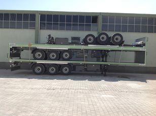 جديدة العربات نصف المقطورة شاحنة نقل الحاويات LIDER 2020 YEAR NEW 40' 20' 30' container transport trailer manufactur