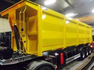 جديدة العربات نصف المقطورة شاحنة نقل الحبوب LIDER 2020 NEW TRAILER MANUFACTURER COMPANY