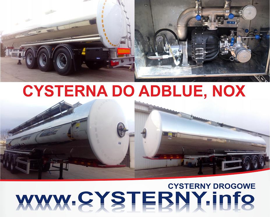 جديد شاحنة الصهريج CYSTERNA NEUTRALNA ADBLUE, 2018,30 TYŚ.L, 1 KOM.