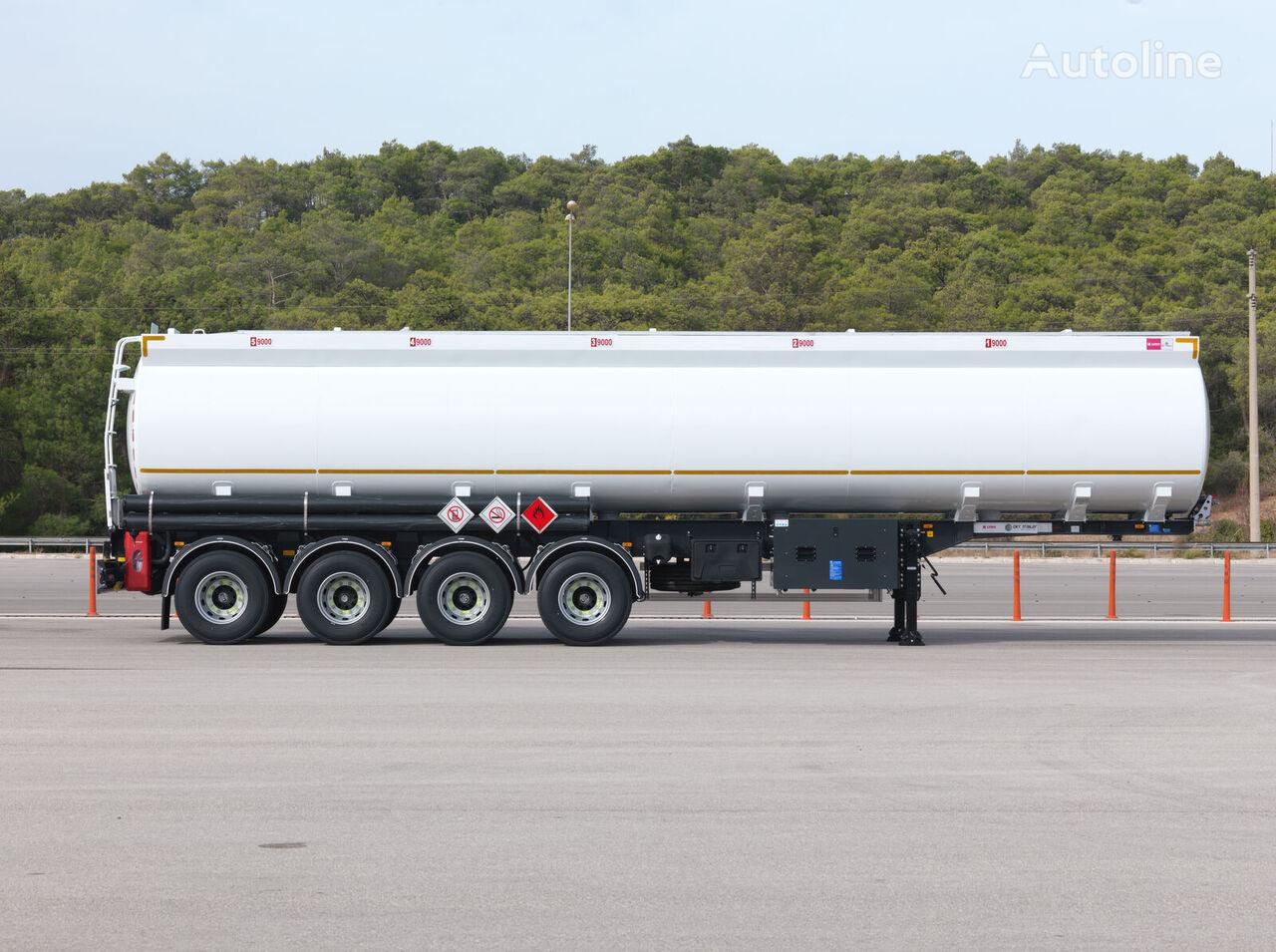 جديد شاحنة الصهريج OKT TRAILER 45 m3 ELIPTIC TANKER SEMI TRAILER