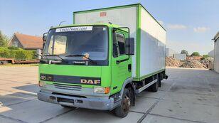 شاحنة مقفلة DAF 45.130 Ti 6 Cylinders Euro 2 Spring-Spring