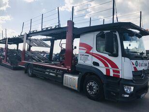 شاحنة نقل السيارات MERCEDES-BENZ Actros 1840 Euro 6 + Lohr CHR + العربات المقطورة شاحنة نقل السيارات