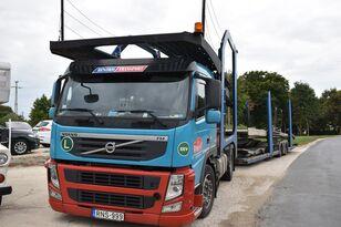 شاحنة نقل السيارات VOLVO FM 460 + LOHR 1.22 + العربات المقطورة شاحنة نقل السيارات