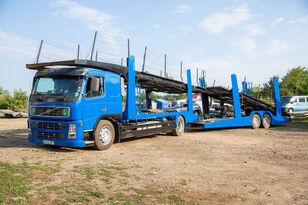 شاحنة نقل السيارات VOLVO FM 4x2 R + العربات المقطورة شاحنة نقل السيارات