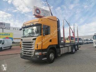 شاحنة نقل الأخشاب SCANIA 420