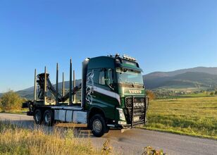 شاحنة نقل الأخشاب VOLVO fh 540 euro 6 do drewna lasu kłody epsilon Loglift doll huttner